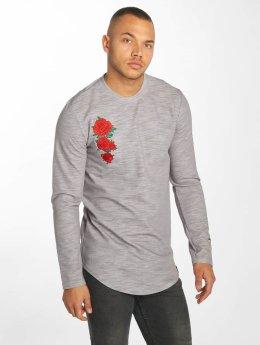 Hechbone Longsleeve Roses grau