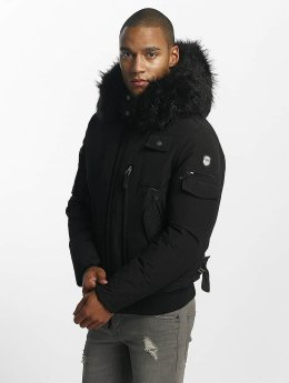 Hechbone Manteau hiver Police noir