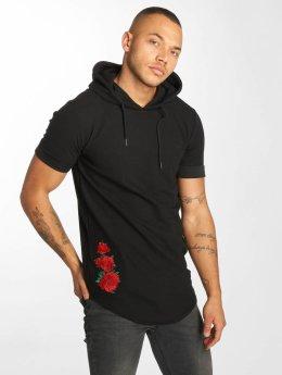 Hechbone t-shirt Roses zwart