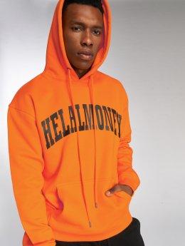 Helal Money Bluzy z kapturem Taza pomaranczowy