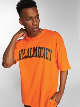 Helal Money t-shirt Oujda oranje
