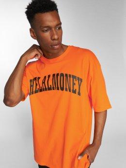 Helal Money t-shirt Oujda oranje