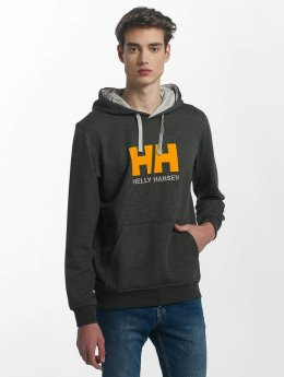 Helly Hansen Hoodies Logo šedá