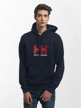 Helly Hansen Hoodies Logo modrý
