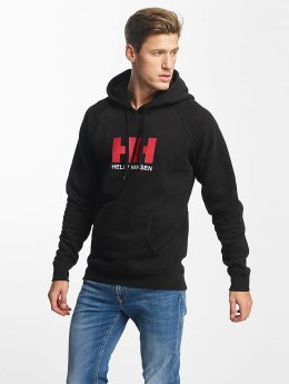 Helly Hansen Hoody Logo  schwarz