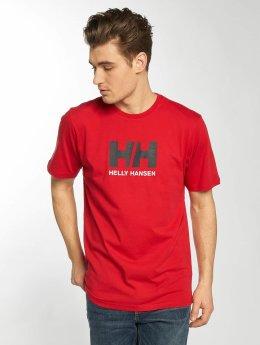 Helly Hansen T-paidat Logo punainen