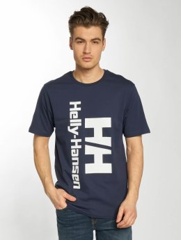 Helly Hansen t-shirt Retro blauw