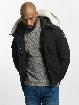 Helvetica Winter Jacket Anchorage Pure Edition black