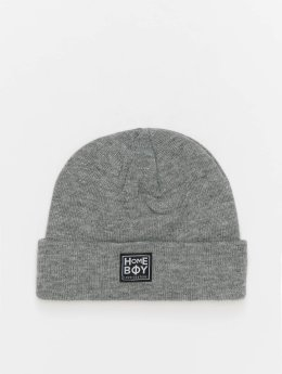 Homeboy Beanie Pissputt New School Logo grau