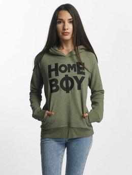 Homeboy Bluzy z kapturem Rome oliwkowy