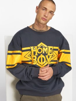 Homeboy Pullover College Nappo Logo blau
