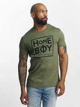 Homeboy T-shirt Take You Home oliv