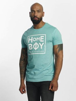 Homeboy Take You Home New School Logo T-Shirt Turquoise