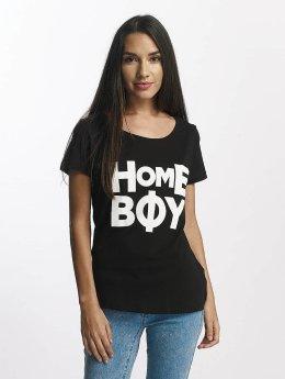 Homeboy T-Shirty Paris czarny