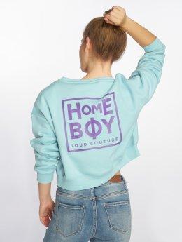 Homeboy trui Haily New School Logo blauw