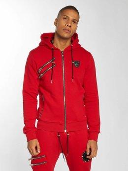 Horspist Hoodies con zip Carter rosso