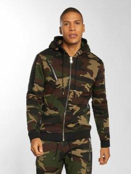 Horspist Sweat capuche zippé Tomas camouflage