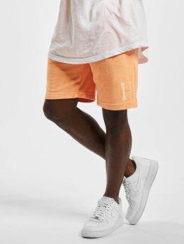 HUF Šortky Clayton oranžová
