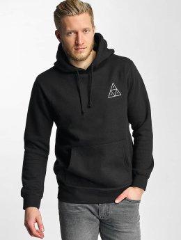 HUF Felpa con cappuccio Triple Triangle nero