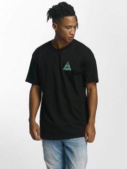 HUF T-Shirt Dimensions Triangle black