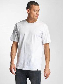HUF T-Shirt Triple Troangle Pocket blanc