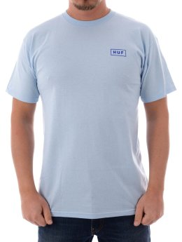 HUF T-Shirt Bar Logo blau