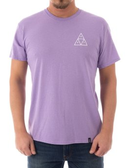 HUF T-Shirt Triple Triangle bleu