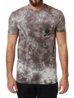 HUF T-Shirt Spades Pocket grau