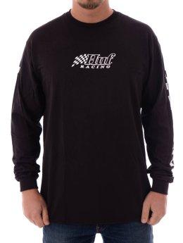 HUF T-Shirt manches longues Racing noir