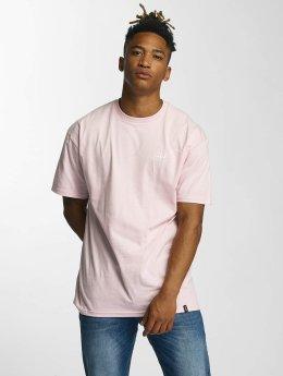 HUF T-Shirt Puff Bar Logo  rosa