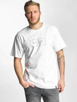 HUF T-Shirt Bar Logo white
