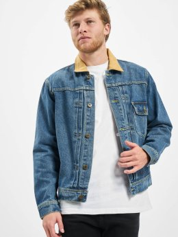 HUF Winterjacke Brooklyn Denim blau