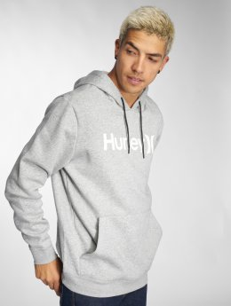 Hurley Hoody Surf Check One & Only grijs