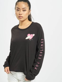 Hurley Longsleeve Catch Feelings schwarz