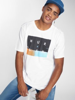 Hurley T-Shirt Premium Breaking Sets blanc