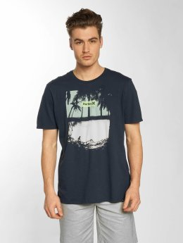 Hurley t-shirt Alright blauw