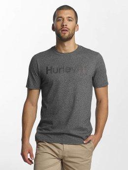 Hurley t-shirt Circle Icon grijs