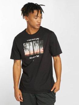 Hurley T-Shirt Sunrays noir