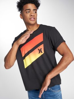 Hurley T-Shirt Premium Icon Slash Gradient noir