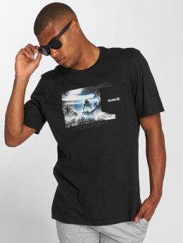 Hurley T-Shirt Whitewater Pocket schwarz