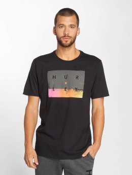 Hurley T-Shirt Breaking Sets schwarz