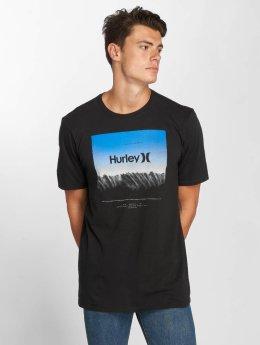 Hurley t-shirt Estuary zwart