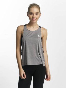 Hurley Tank Tops Quick Dry Mesh gray