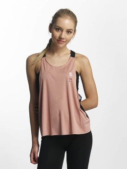 Hurley Tank Tops Quick Dry Mesh pink