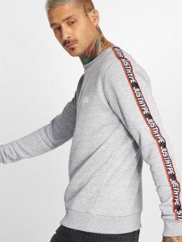 HYPE Пуловер Taylor Tape серый