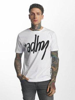 HYPE Camiseta Upsode Down blanco