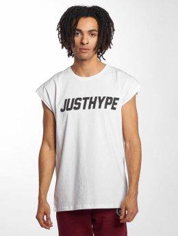 HYPE Camiseta Sporting blanco