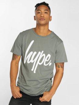 HYPE Camiseta Script gris