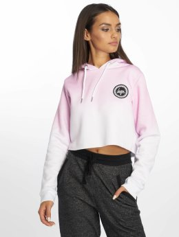 HYPE Hoodie Speckle Fade rosa