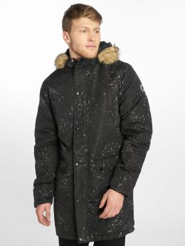 HYPE Parka Splatter black